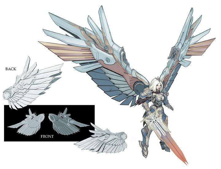 darksiders angelic figures