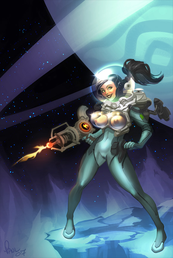 "Whee spacegirl!(""with boobies"")"